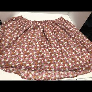 Old navy floral skirt 3xl